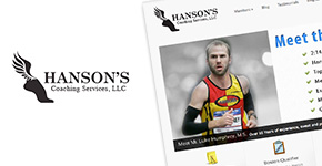Luke Humphrey Running ( Hansons Coaching Services ) re-design!